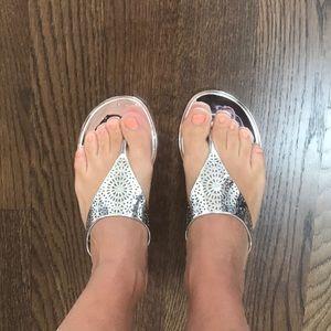 994fef973e7e BCBGeneration Shoes - BCBG Starr 2 jelly thong sandals.